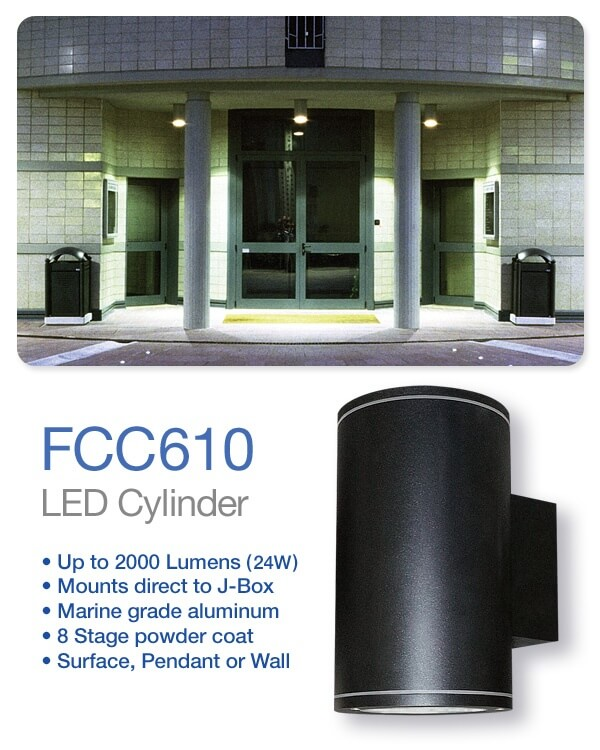 FCC610 Cylinder by FC Lighting